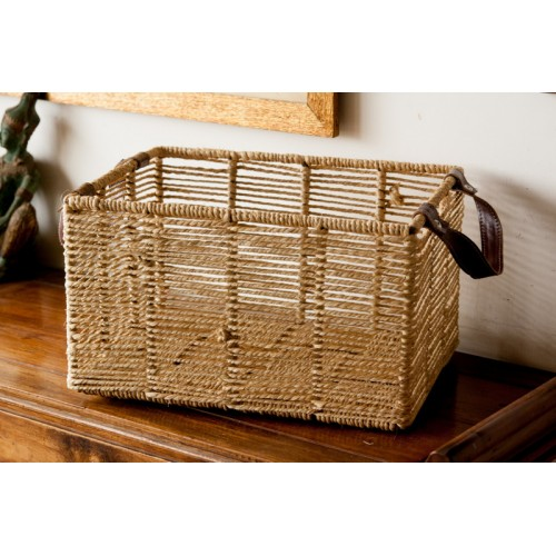 Natural Square Basket
