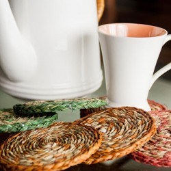 Loose Multicolored Coasters (1)
