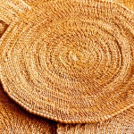 Golden Grass Dining Mat
