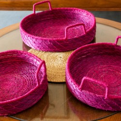 Sabai Grass Tray Set